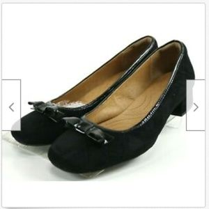Clarks Indigo Charmed Bow Women's Shoes Size 10
